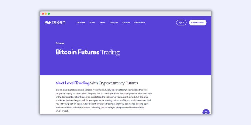 Kraken Futures Trading