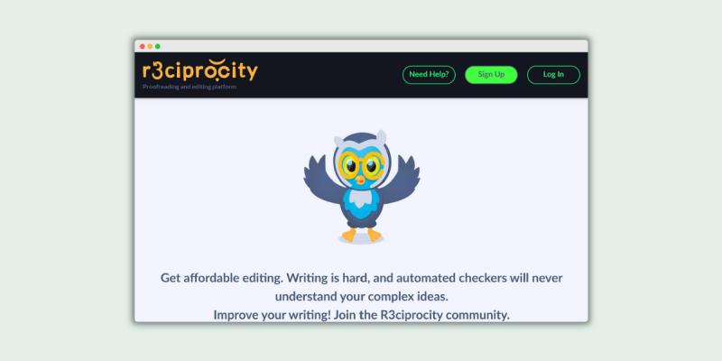 R3ciprocity Proofreading Jobs