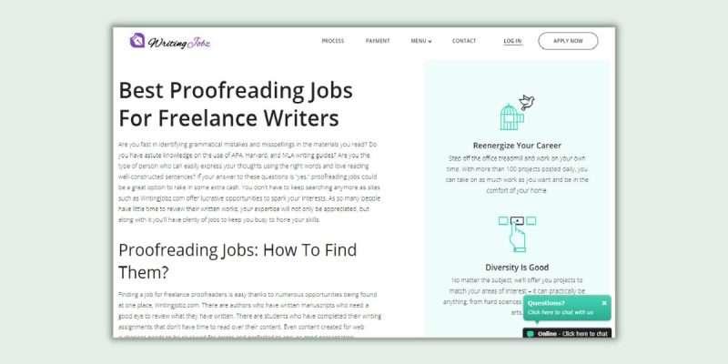 Writing Jobz Proofreading Jobs