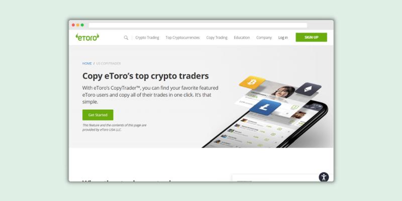 eToro CopyTrader Social Features