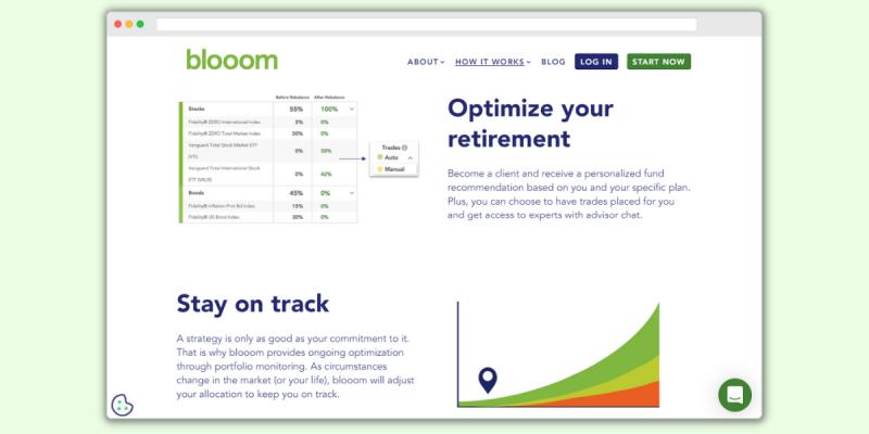 Blooom Optimize Your Retirement