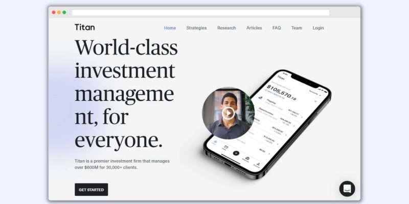 Titan Invest Homepage