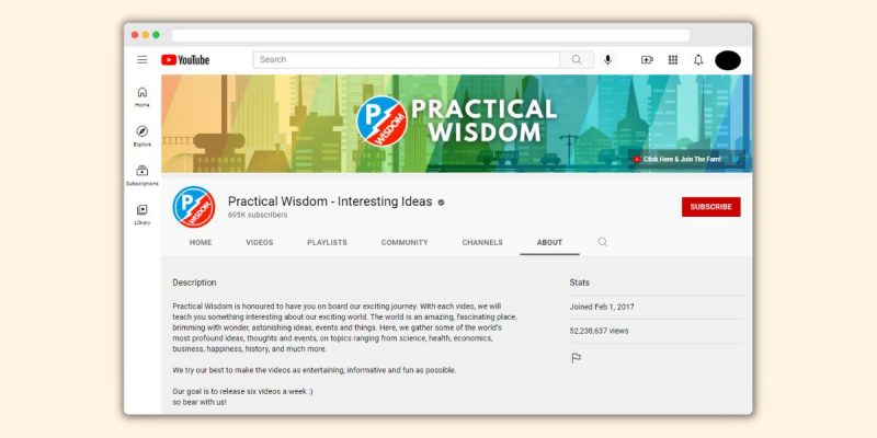 Practical Wisdom Channel