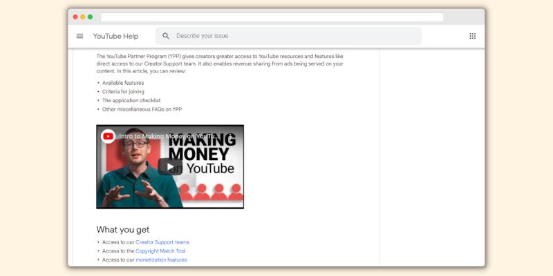 YouTube Partnership Program