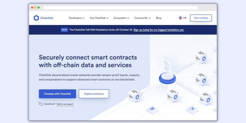 Chainlink Homepage
